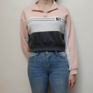 SWS Active Cropped Sweater Urban Outfitters